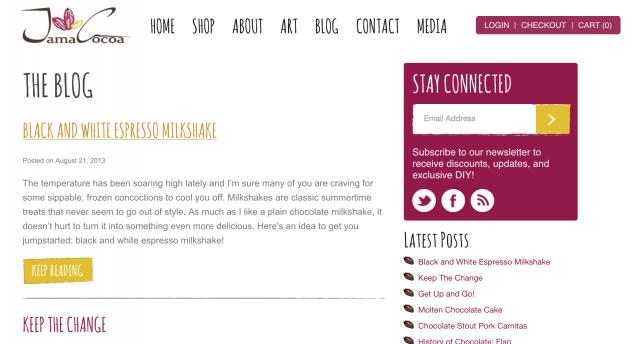 Jama Cocoa Blog