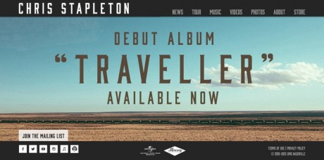 Chris Stapleton homepage