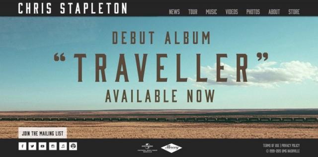 Chris Stapleton homepage