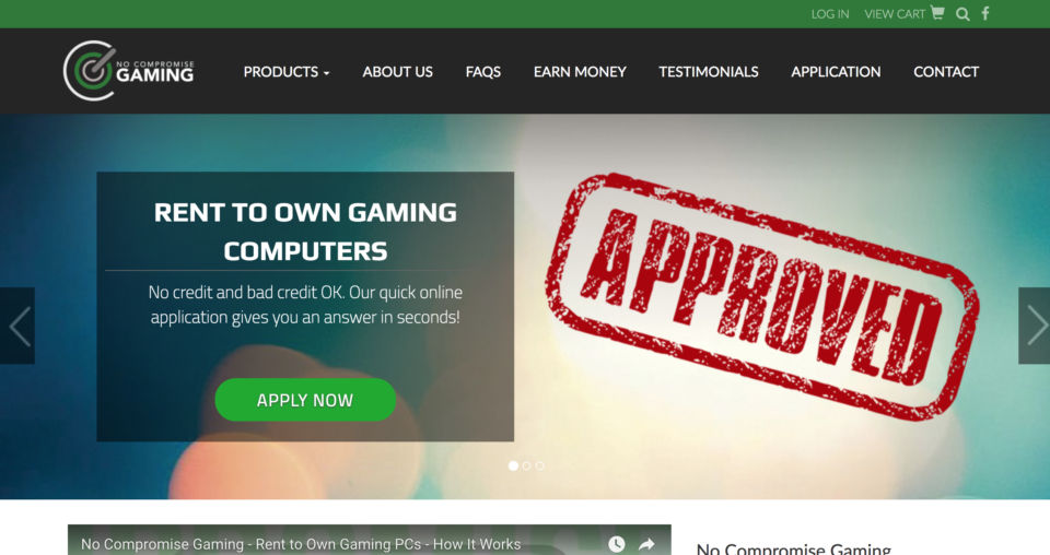 No Compromise Gaming - Magento Website