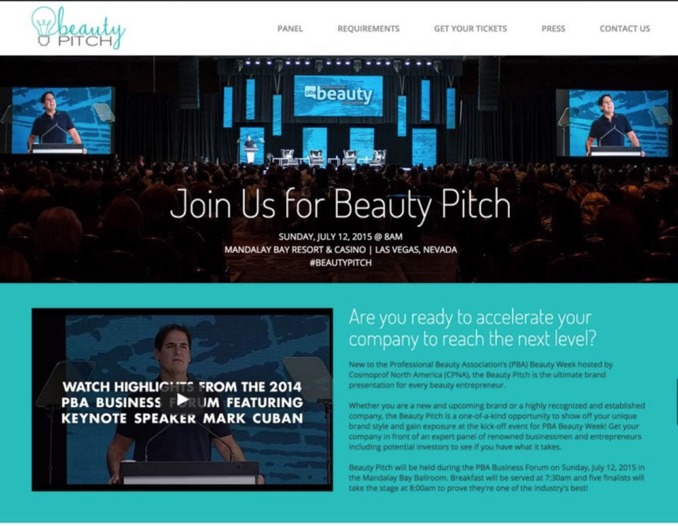 beauty pitch feature