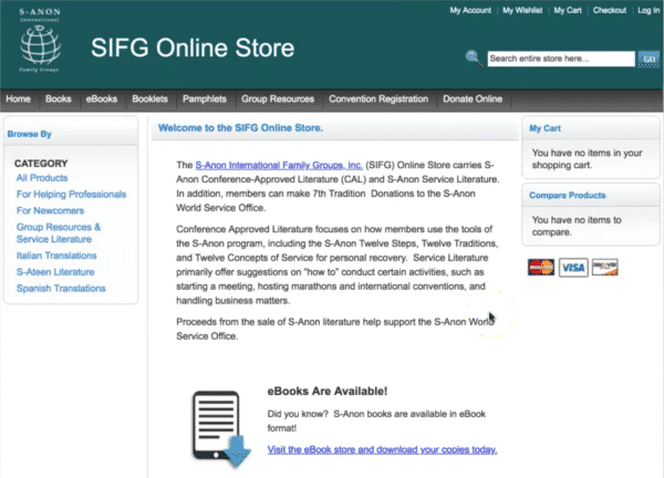 S-Anon old Magento store