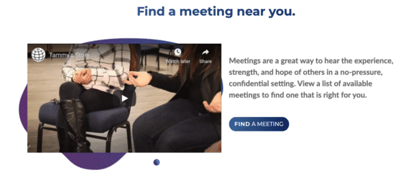 S-Anon find a meeting